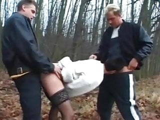 Dogging mature wife fuck by 2 039 near...