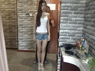 (asian-bondagecom) Shorts Vest Mei Denim Su Small