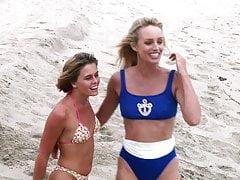 Nicole Eggert, Susan Anton - ''Baywatch'' s3e01