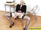 Mommy in teacher uniform