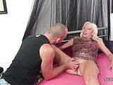 Step-Mother Seduce Step-Son to Fuck when Dad is Away