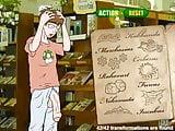Hentai sex game Nerd fucks sexy blonde with magic spells