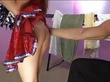 Cheerleader Tia Tanaka