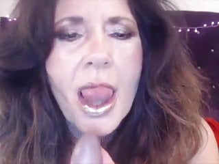 Naughty old dirty talks bangs gets cum...