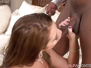 Busty Brunette Will get Her Asshole Destroyed By big black cock