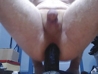 me and large black dildo