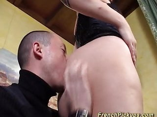Tattooed french gets fucked...