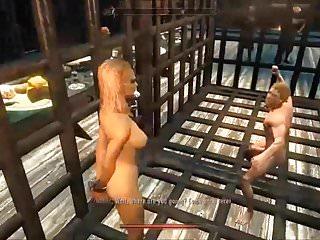 whipped Elenwen fucked villainess Skyrim pt2