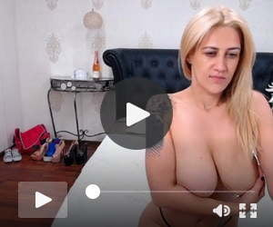 Nikky teases with her huge boobs on cam 2