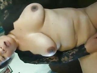 Asian mature masturbating...