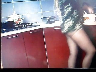 cooking in pantyhose 5
