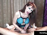 Big Boobied Milf Shanda Fay Takes a Nice Cock in Her Mouth!
