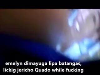 Pinoy slut Emelyn dimayuga jec quado Lipa Batangas