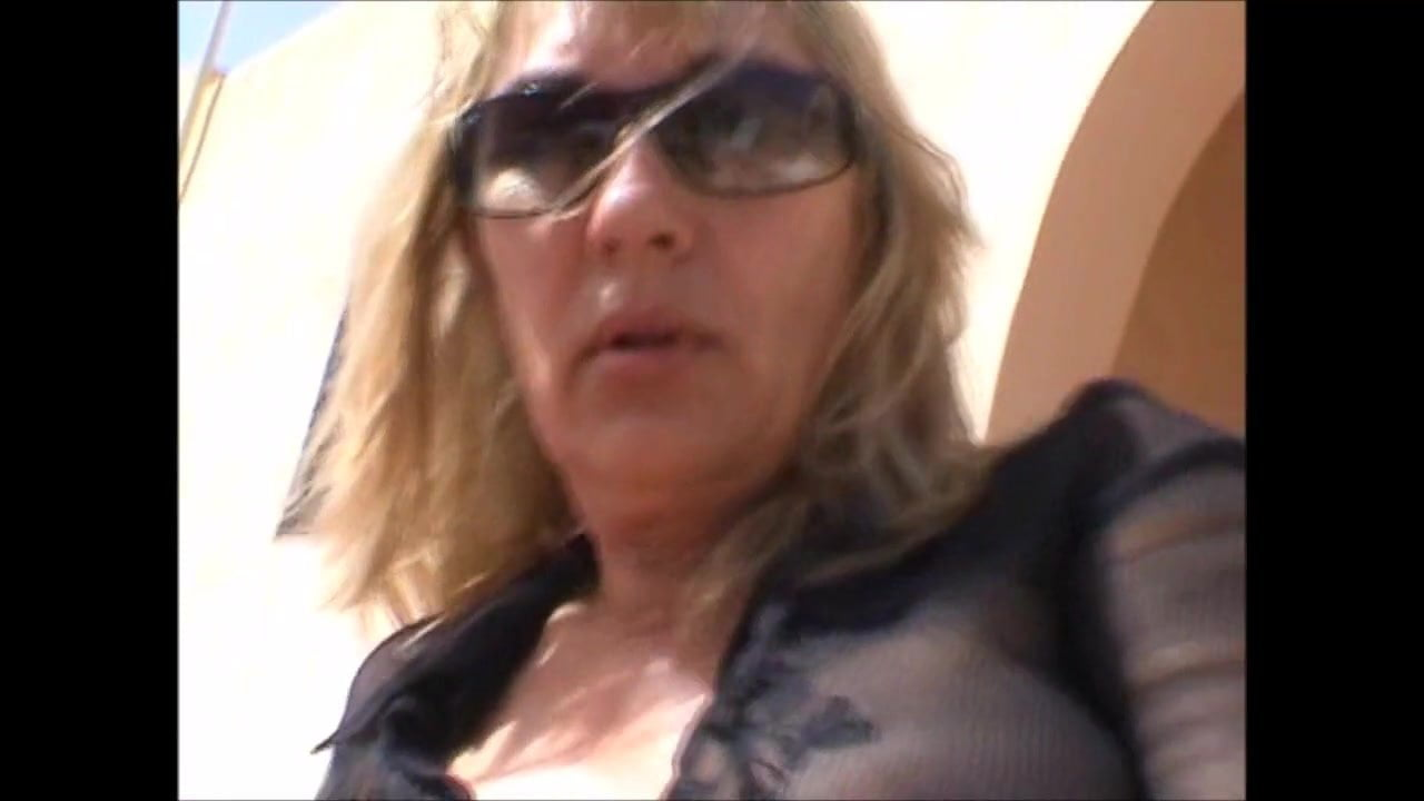 French Shaved Blonde Granny Pt3 French Mature Shaving Mobileporn