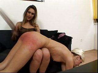Lesbian exposing punishment session...