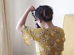 Chinese girl latex bondage challenge