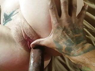 Quivering legs deep penis wrestle bask in