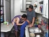 housekeeper recives the dust of his life