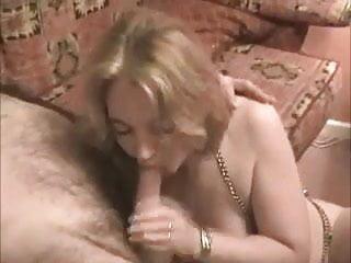 British MILF Slag Shagged on my Sofa as her Hubby Films