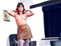 BRASS IN POCKET - vintage 80s hairy strip dance
