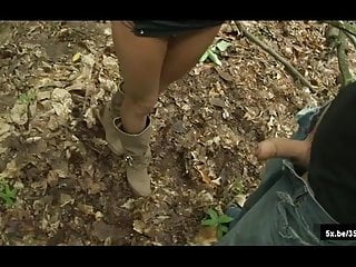 Shanaelle gets ass fucked in a forest