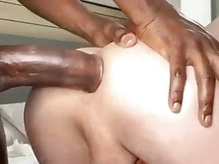 Young guy takes black cock