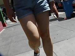 BootyCruise: Asian Babes Leg Art 31:  Roomy Shorts