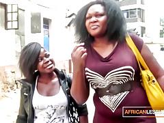 Big Booty Ebony Girl on Girl