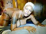 Thick Ebony MILF Interracial