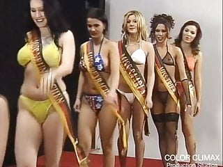 Beauty pageant...