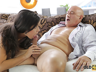 OLD4K. Rough sex for stunning latina babe.
