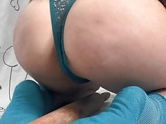 Young Blonde Girl Shows Off Her Ass