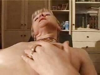 french shaved blonde granny pt5