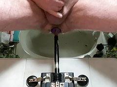 Jerking off w my fuck machine