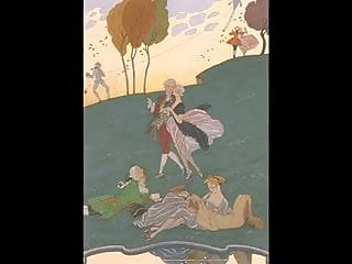 Of georges barbier 5 fetes galantes...