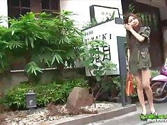 Hot Thai girl pick up