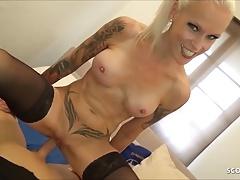 German Stepmom Sophie Logan caught Masturbate and Fuck