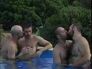 Bears pool party...