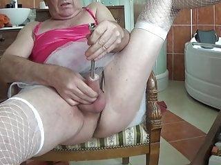 shemale urethral sissy tranny lingerie 1 tutu sounding nylon