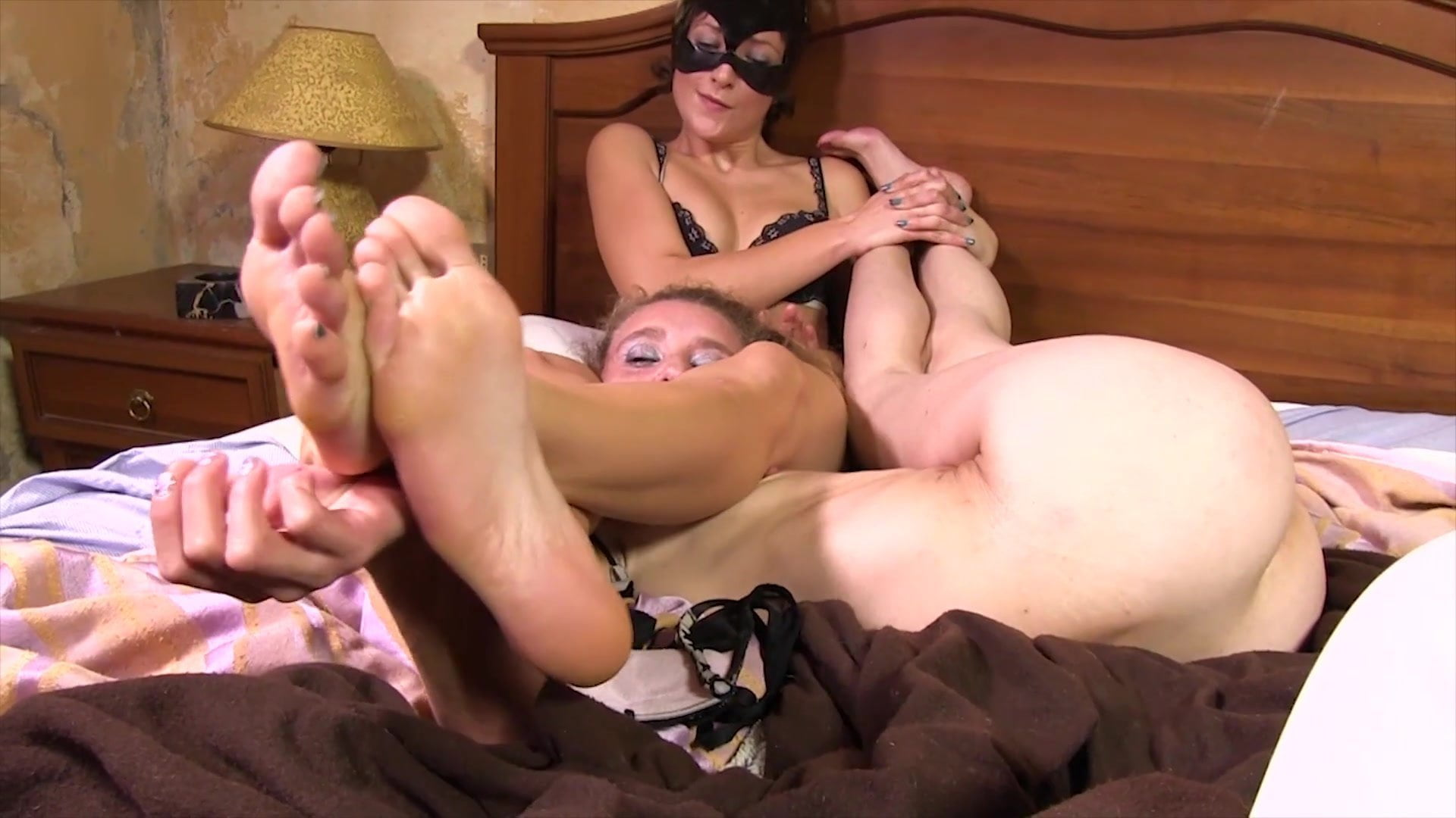 Lesbian Foot Worship Redhead