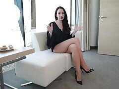 Vanessa P long legs