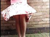 Pamala windy day patterned skirt