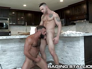 Ragingstallion drake 039 ass rimmed by delivery guy...