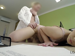 Loan4k girl passes anal casting well and finally...