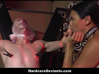 Hot MILF Dana Vespoli Humiliates Her Male Pet And Fucks Him