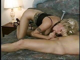 Big Tits Horny Blonde Sucker