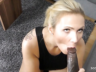 wife cheat with big black cock and let film in pov germanPorn Videos