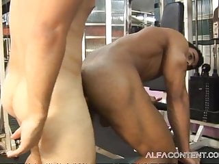 Gym coach fuck muscled guy...