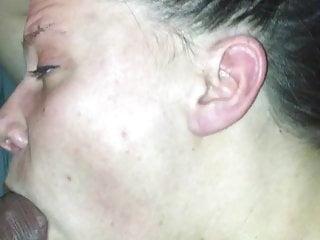 Swedish wife sucks husbandscock