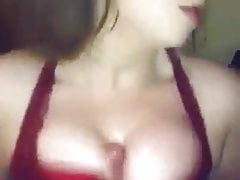 Amelia skye getting her big tits in bra fucked